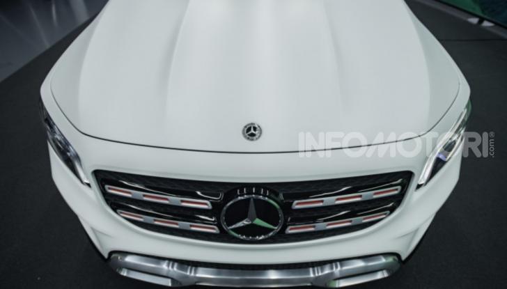 Mercedes Concept GLB: debutta il nuovo SUV compatto tedesco - Foto 3 di 18