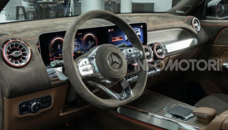 Mercedes Concept GLB: debutta il nuovo SUV compatto tedesco - Foto 9 di 18