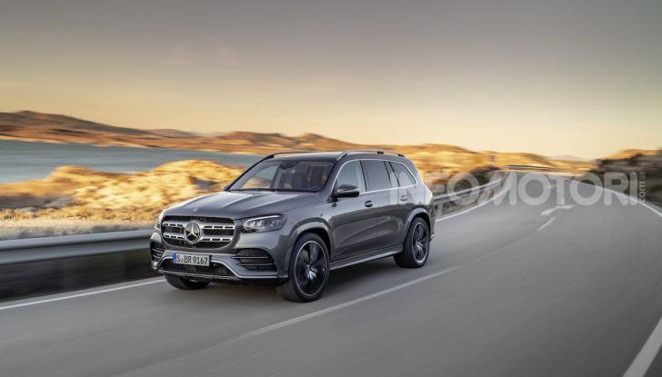 Mercedes GLS 2019: il nuovo SUV ammiraglio della casa tedesca - Foto 1 di 70