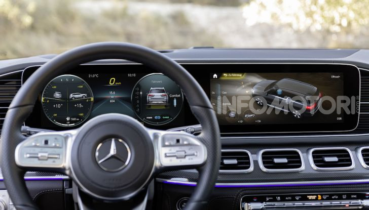 Mercedes GLS 2019: il nuovo SUV ammiraglio della casa tedesca - Foto 10 di 70