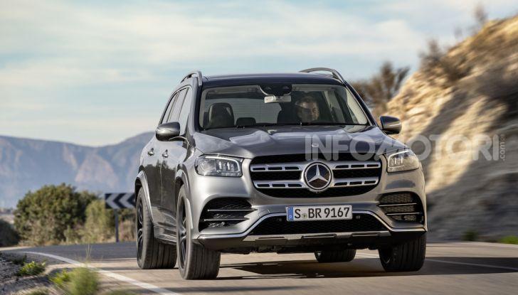 Mercedes GLS 2019: il nuovo SUV ammiraglio della casa tedesca - Foto 12 di 70