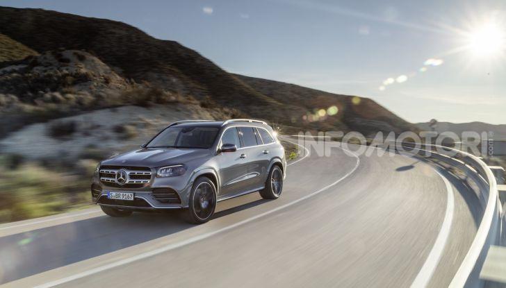 Mercedes GLS 2019: il nuovo SUV ammiraglio della casa tedesca - Foto 2 di 70