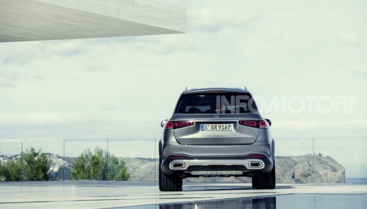 Mercedes GLS 2019: il nuovo SUV ammiraglio della casa tedesca - Foto 21 di 70