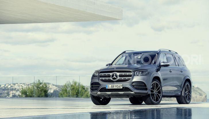 Mercedes GLS 2019: il nuovo SUV ammiraglio della casa tedesca - Foto 22 di 70