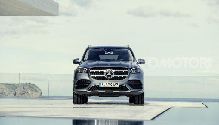 Mercedes GLS 2019: il nuovo SUV ammiraglio della casa tedesca - Foto 23 di 70