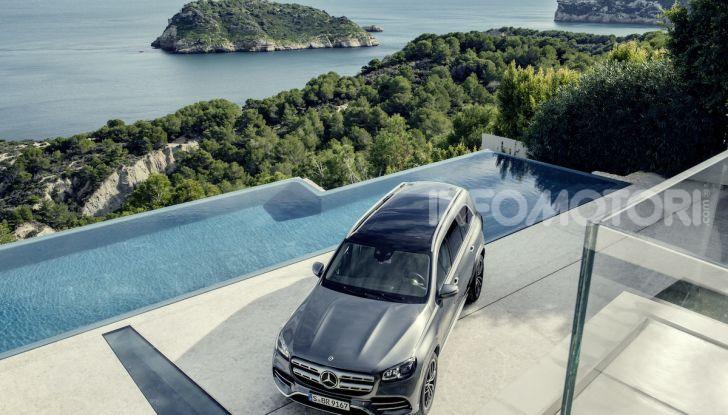 Mercedes GLS 2019: il nuovo SUV ammiraglio della casa tedesca - Foto 26 di 70
