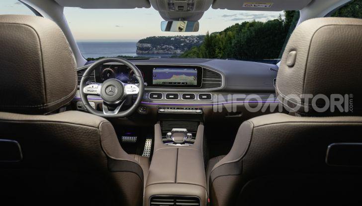 Mercedes GLS 2019: il nuovo SUV ammiraglio della casa tedesca - Foto 27 di 70