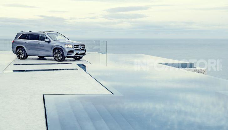 Mercedes GLS 2019: il nuovo SUV ammiraglio della casa tedesca - Foto 29 di 70