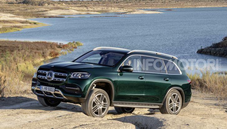 Mercedes GLS 2019: il nuovo SUV ammiraglio della casa tedesca - Foto 42 di 70