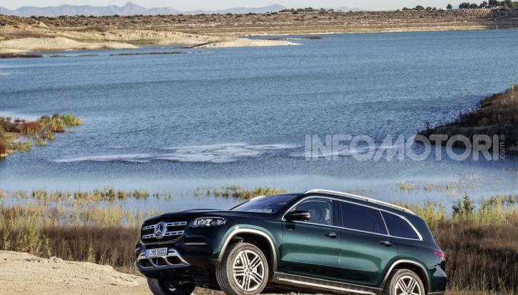 Mercedes GLS 2019: il nuovo SUV ammiraglio della casa tedesca - Foto 44 di 70