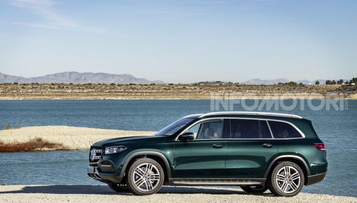Mercedes GLS 2019: il nuovo SUV ammiraglio della casa tedesca - Foto 45 di 70
