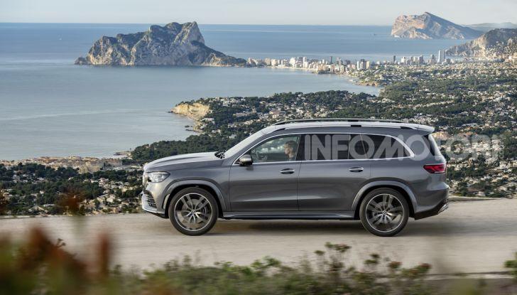 Mercedes GLS 2019: il nuovo SUV ammiraglio della casa tedesca - Foto 4 di 70