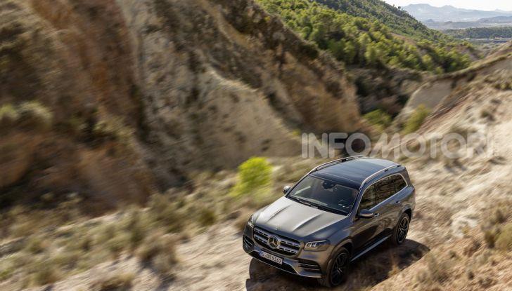 Mercedes GLS 2019: il nuovo SUV ammiraglio della casa tedesca - Foto 5 di 70
