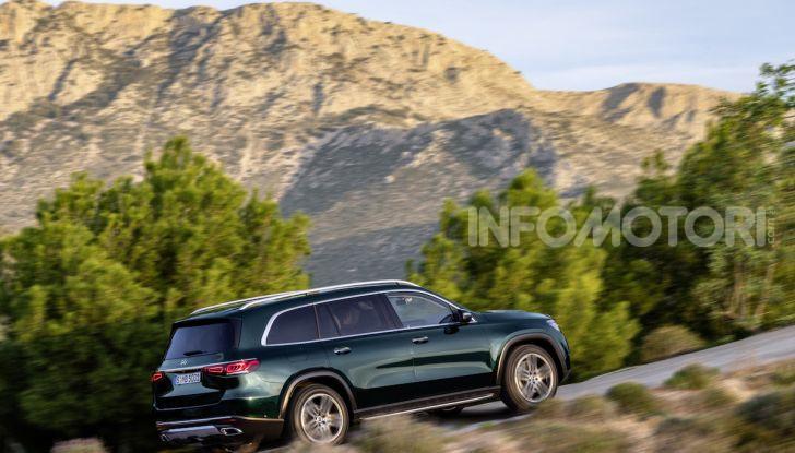 Mercedes GLS 2019: il nuovo SUV ammiraglio della casa tedesca - Foto 48 di 70