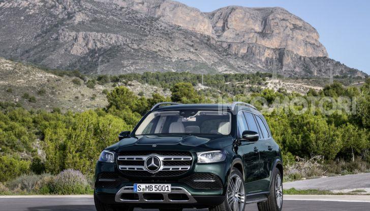 Mercedes GLS 2019: il nuovo SUV ammiraglio della casa tedesca - Foto 51 di 70