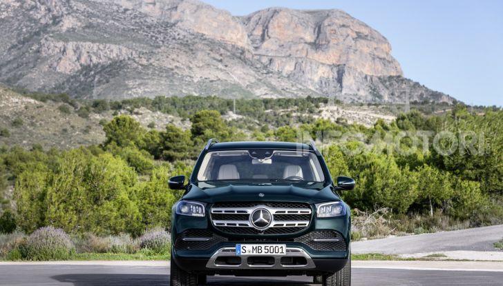Mercedes GLS 2019: il nuovo SUV ammiraglio della casa tedesca - Foto 52 di 70