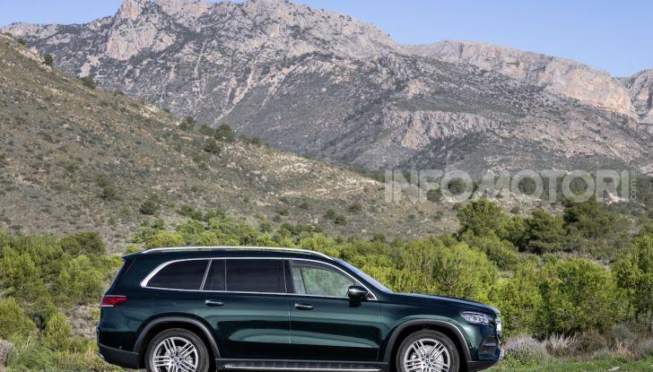 Mercedes GLS 2019: il nuovo SUV ammiraglio della casa tedesca - Foto 53 di 70