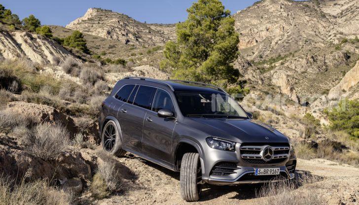 Mercedes GLS 2019: il nuovo SUV ammiraglio della casa tedesca - Foto 6 di 70