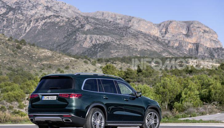 Mercedes GLS 2019: il nuovo SUV ammiraglio della casa tedesca - Foto 54 di 70