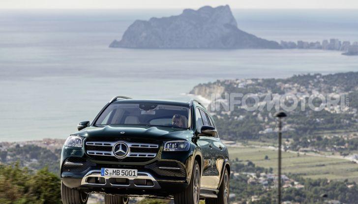 Mercedes GLS 2019: il nuovo SUV ammiraglio della casa tedesca - Foto 58 di 70