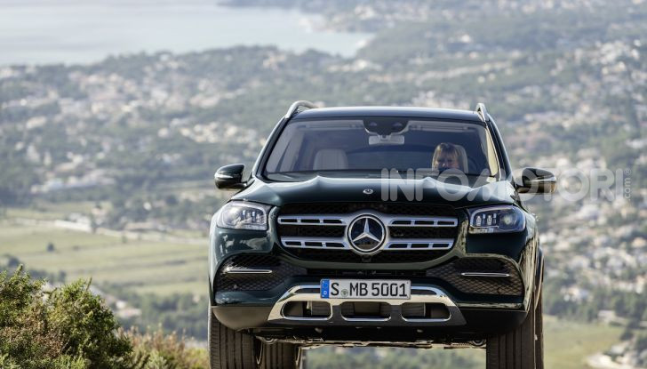 Mercedes GLS 2019: il nuovo SUV ammiraglio della casa tedesca - Foto 59 di 70