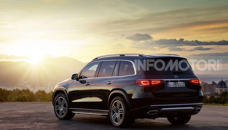 Mercedes GLS 2019: il nuovo SUV ammiraglio della casa tedesca - Foto 61 di 70