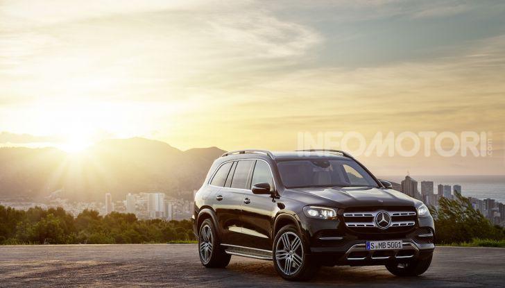 Mercedes GLS 2019: il nuovo SUV ammiraglio della casa tedesca - Foto 62 di 70