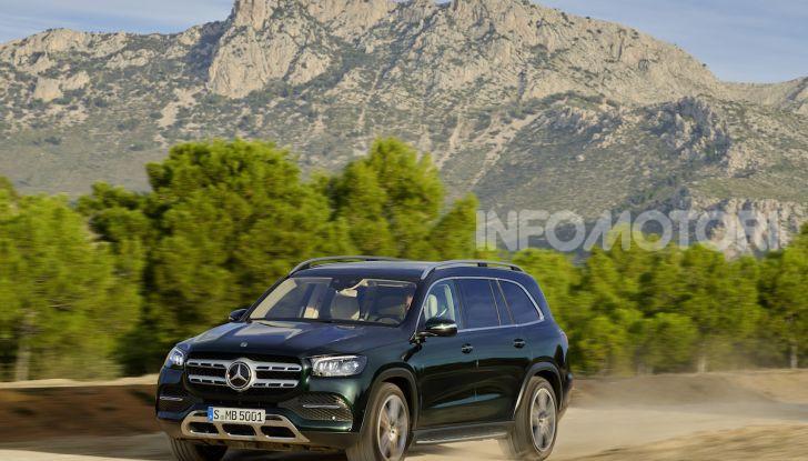Mercedes GLS 2019: il nuovo SUV ammiraglio della casa tedesca - Foto 63 di 70