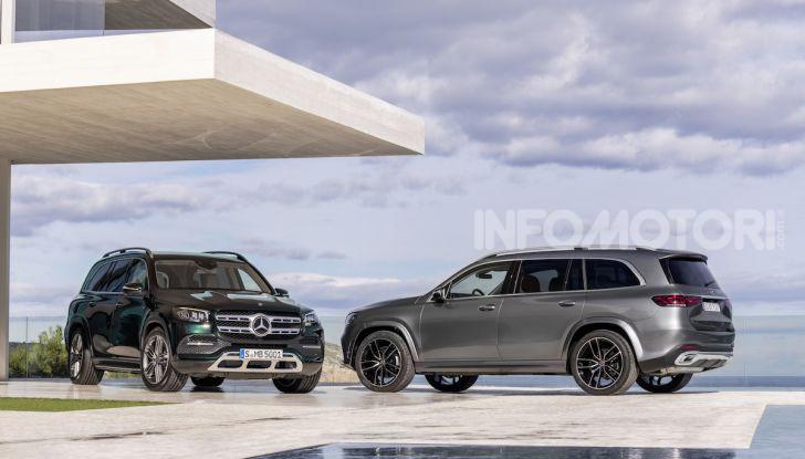 Mercedes GLS 2019: il nuovo SUV ammiraglio della casa tedesca - Foto 64 di 70