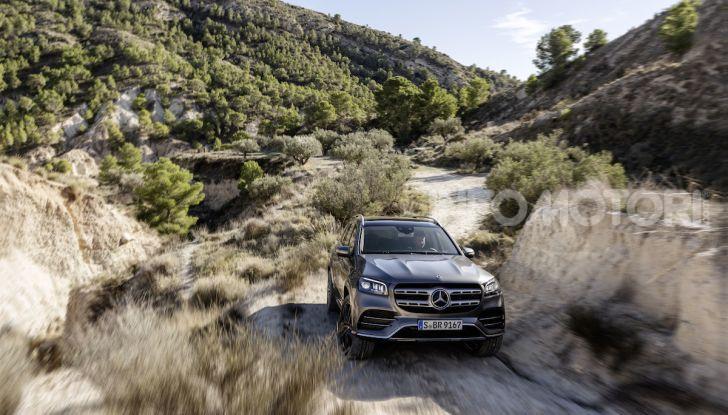 Mercedes GLS 2019: il nuovo SUV ammiraglio della casa tedesca - Foto 8 di 70