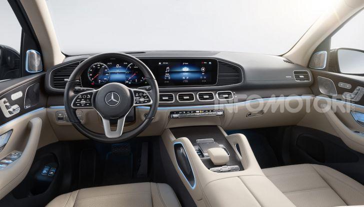 Mercedes GLS 2019: il nuovo SUV ammiraglio della casa tedesca - Foto 65 di 70