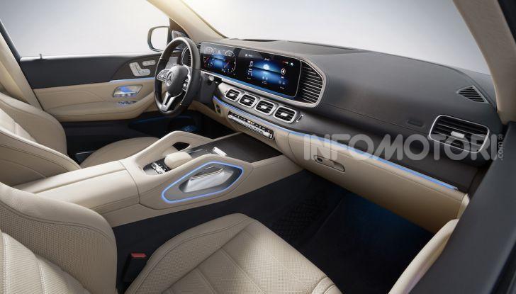 Mercedes GLS 2019: il nuovo SUV ammiraglio della casa tedesca - Foto 66 di 70