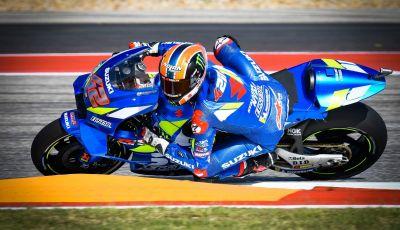 MotoGP 2019, Austin. Trionfa Rins davanti a Rossi e Miller. Cade Marquez