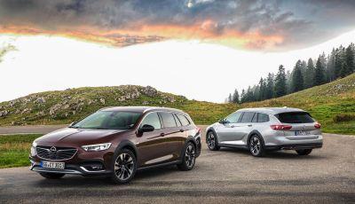 Opel Insigna Country Tourer 2019: rinasce la station wagon tedesca