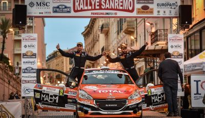 Peugeot Competition 208 Rally Cup TOP al Rallye Sanremo - Nicelli fa il BIS!
