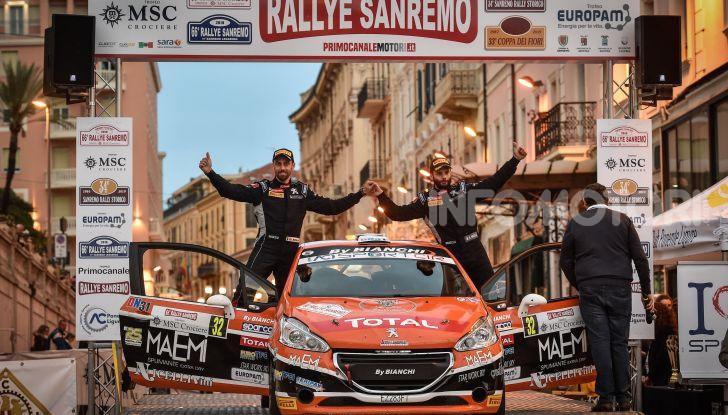 Peugeot Competition 208 Rally Cup TOP al Rallye Sanremo – Nicelli fa il BIS! - Foto 1 di 5