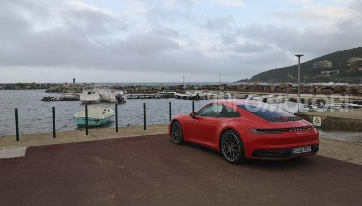 Nuova Porsche 911 (992): Prova su strada in Corsica della nuova Carrera S - Foto 13 di 69