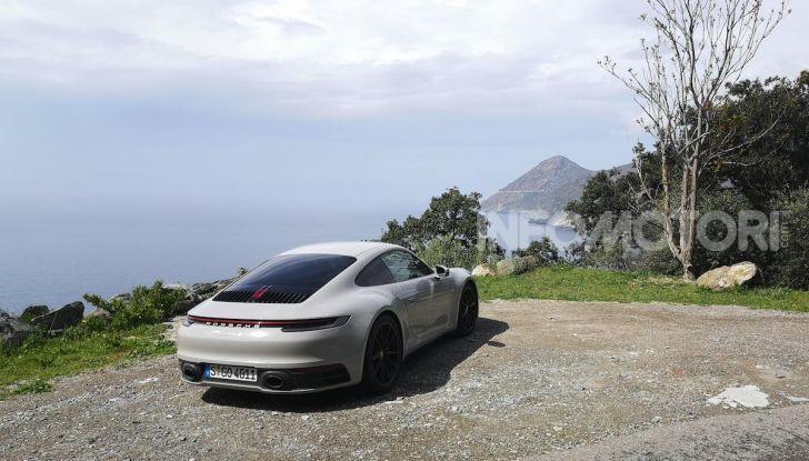 Nuova Porsche 911 (992): Prova su strada in Corsica della nuova Carrera S - Foto 1 di 69