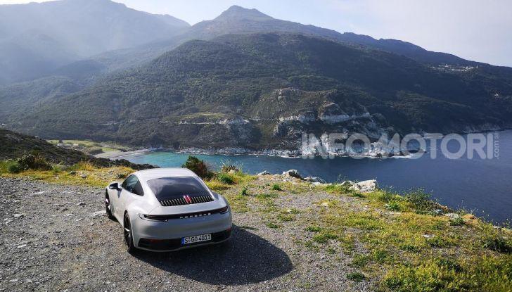 Nuova Porsche 911 (992): Prova su strada in Corsica della nuova Carrera S - Foto 22 di 69