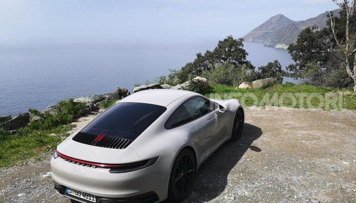 Nuova Porsche 911 (992): Prova su strada in Corsica della nuova Carrera S - Foto 2 di 69