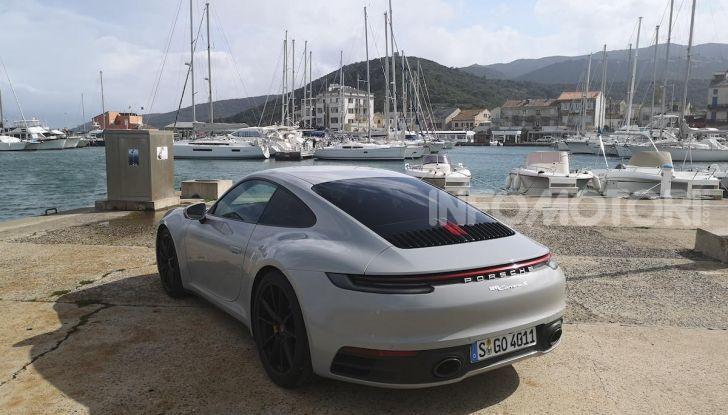 Nuova Porsche 911 (992): Prova su strada in Corsica della nuova Carrera S - Foto 4 di 69