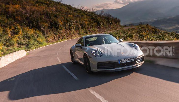 Nuova Porsche 911 (992): Prova su strada in Corsica della nuova Carrera S - Foto 47 di 69
