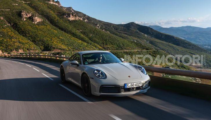 Nuova Porsche 911 (992): Prova su strada in Corsica della nuova Carrera S - Foto 48 di 69