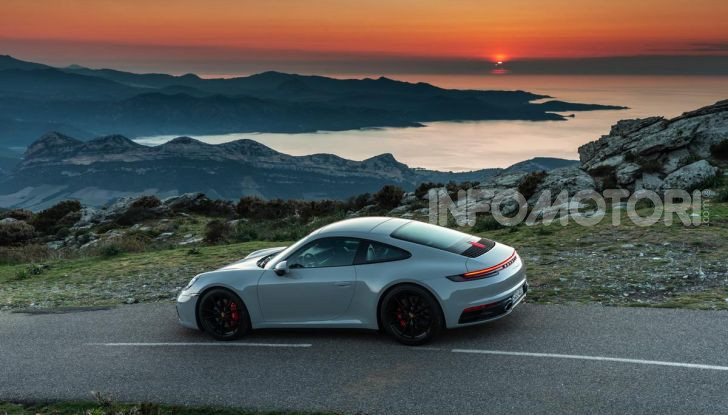 Nuova Porsche 911 (992): Prova su strada in Corsica della nuova Carrera S - Foto 35 di 69