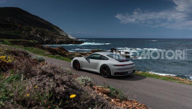Nuova Porsche 911 (992): Prova su strada in Corsica della nuova Carrera S - Foto 36 di 69
