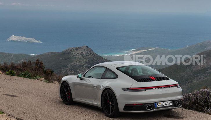 Nuova Porsche 911 (992): Prova su strada in Corsica della nuova Carrera S - Foto 37 di 69