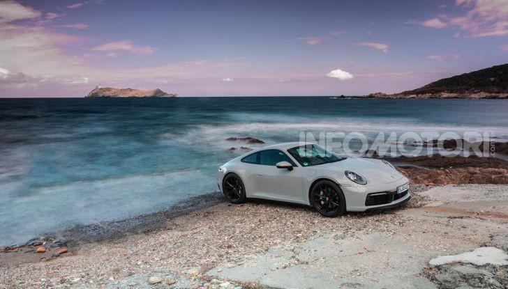 Nuova Porsche 911 (992): Prova su strada in Corsica della nuova Carrera S - Foto 38 di 69