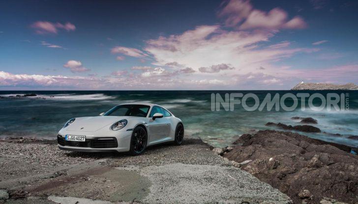 Nuova Porsche 911 (992): Prova su strada in Corsica della nuova Carrera S - Foto 6 di 69