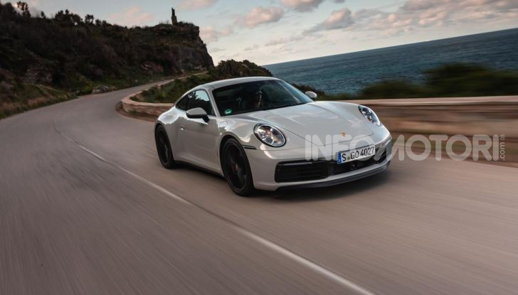 Nuova Porsche 911 (992): Prova su strada in Corsica della nuova Carrera S - Foto 41 di 69