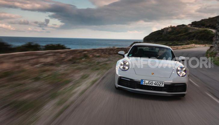 Nuova Porsche 911 (992): Prova su strada in Corsica della nuova Carrera S - Foto 42 di 69